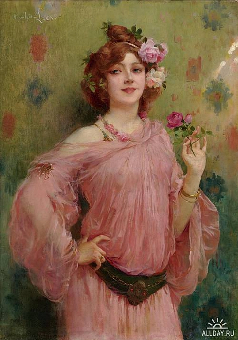 _marie-felix-hippolyte-lucas-1854-1925-a-beauty-in-pink (489x700, 255Kb)