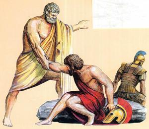 Геракл освобождает Тесея/4711681_Gerakl_osvobojdaet_Teseya_2 (300x260, 117Kb)