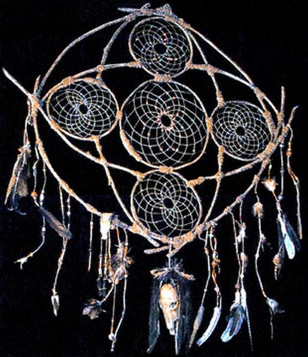 Ловец снов - красивый индейский амулет 10 (604x700, 120Kb)