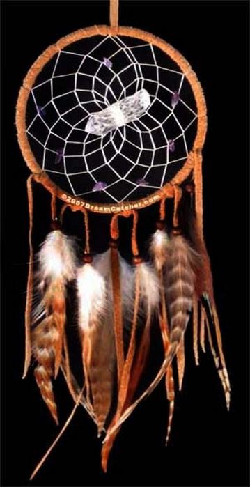 Ловец снов - красивый индейский амулет 11 (359x700, 206Kb)