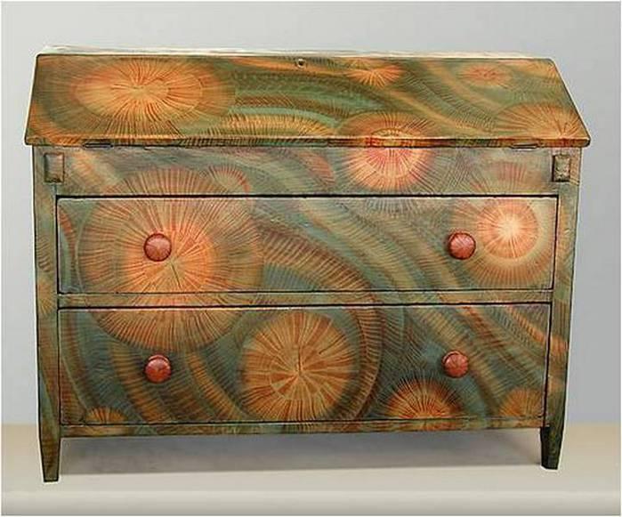 Декор своими руками старой мебели