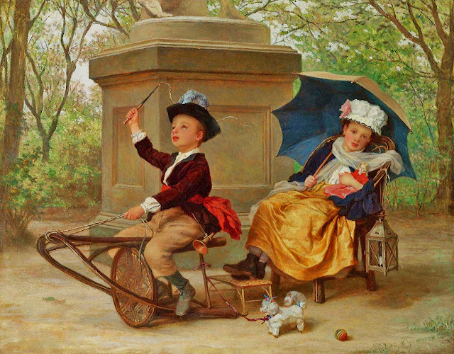 Children's Games, by Andre Henri Dargelas (640x500, 162Kb)