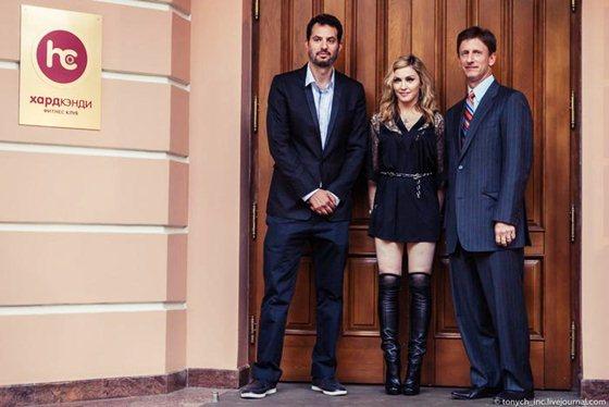 Мадонна открыла свой фитнес клуб в Москве. Фоторепортаж. Фотографии