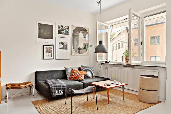 дизайн маленькой квартиры фото (700x466, 138Kb)
