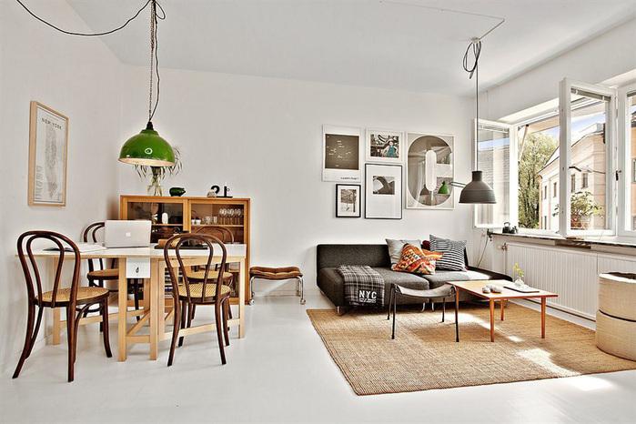дизайн маленькой квартиры фото 2 (700x466, 134Kb)