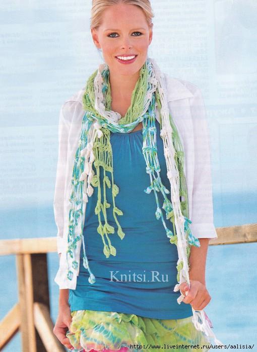 ажурный шарф (510x700, 197Kb)