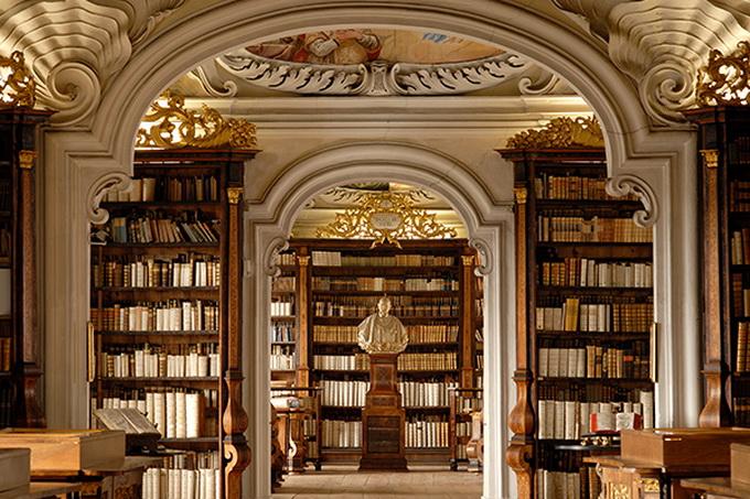красивейшие библиотеки европы фото (680x453, 192Kb)