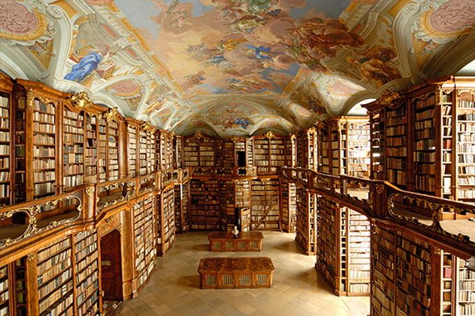 красивейшие библиотеки европы фото 2 (680x453, 230Kb)