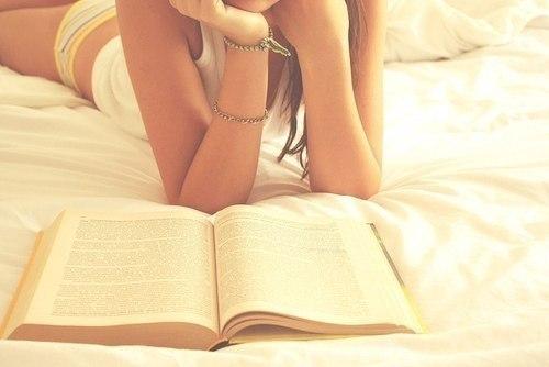 Я люблю читать книги.