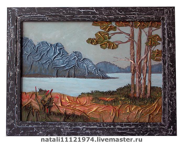 Картины своими руками мастер класс картины