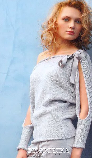 "Пуловер ""Летучая мышь""."