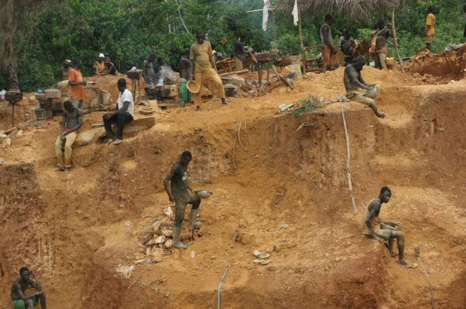 добыча золота в африке фото 4 (670x445, 88Kb)