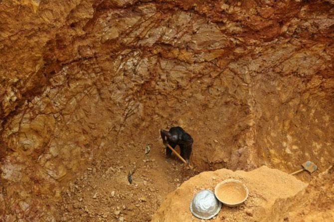 добыча золота в африке фото 8 (670x446, 92Kb)