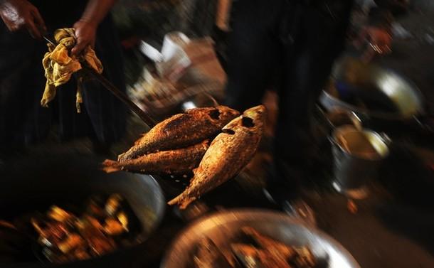 Гильза фестиваль в Калькутте, Индия, 12 августа 2012 года