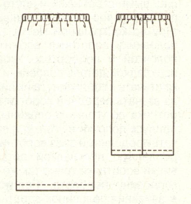 Самая Простая Модель Юбки