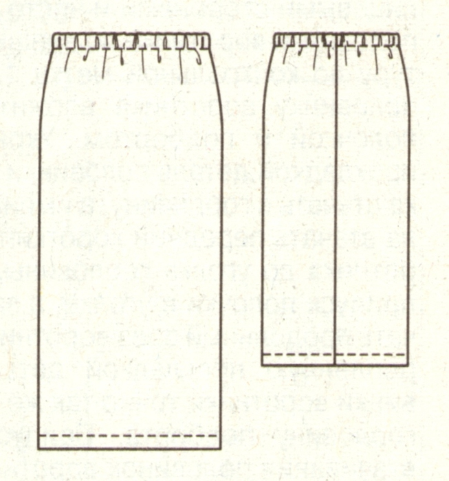 Как кроить и сшить юбку 15
