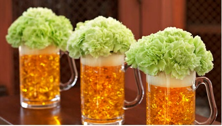 green-flower-beer-mug-centerpieces (450x255, 46Kb)