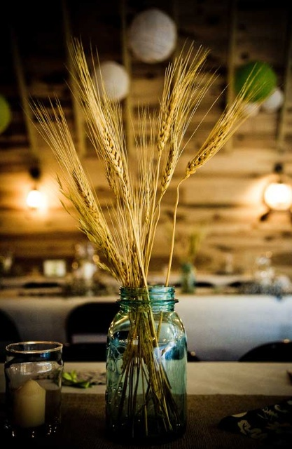 wheat-mason-jar-centerpiece (417x640, 90Kb)