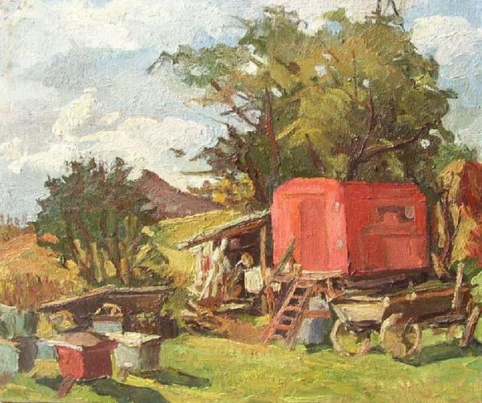 Василенко П. Г. Пасека. (700x585, 171Kb)