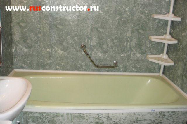 Ремонт ванны пластиковыми панелями своими руками фото