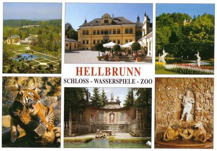 Дворец Хельбрунн - часть 1 33127