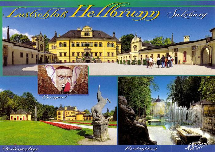 Дворец Хельбрунн - часть 1 13327