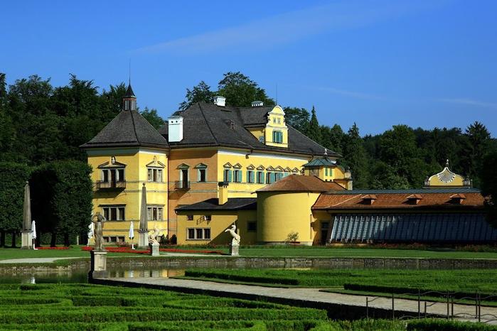 Дворец Хельбрунн - часть 1 27205