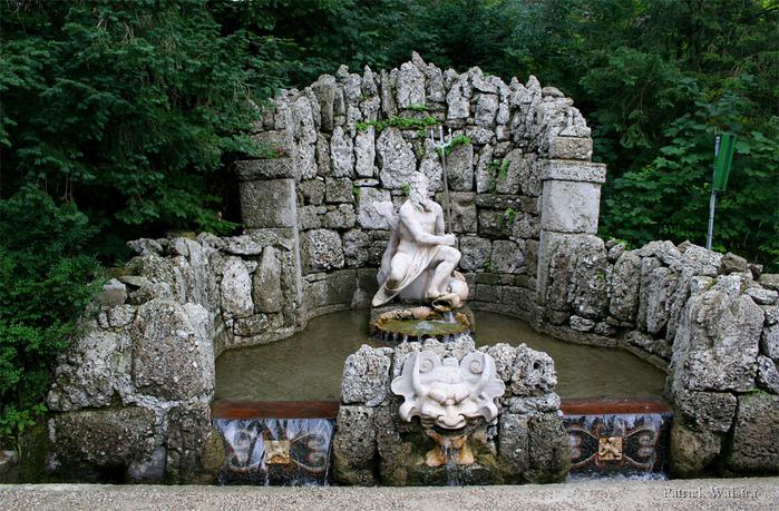 Дворец Хельбрунн - часть 1 15284