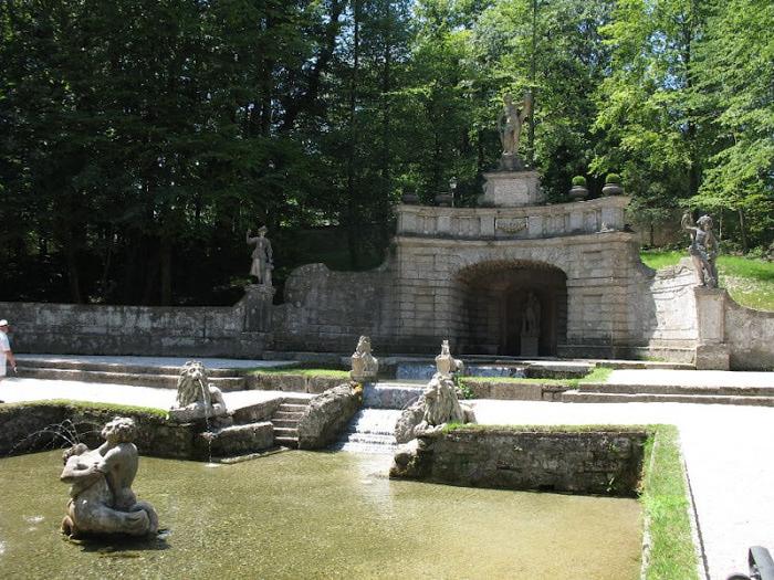 Дворец Хельбрунн - часть 1 91691