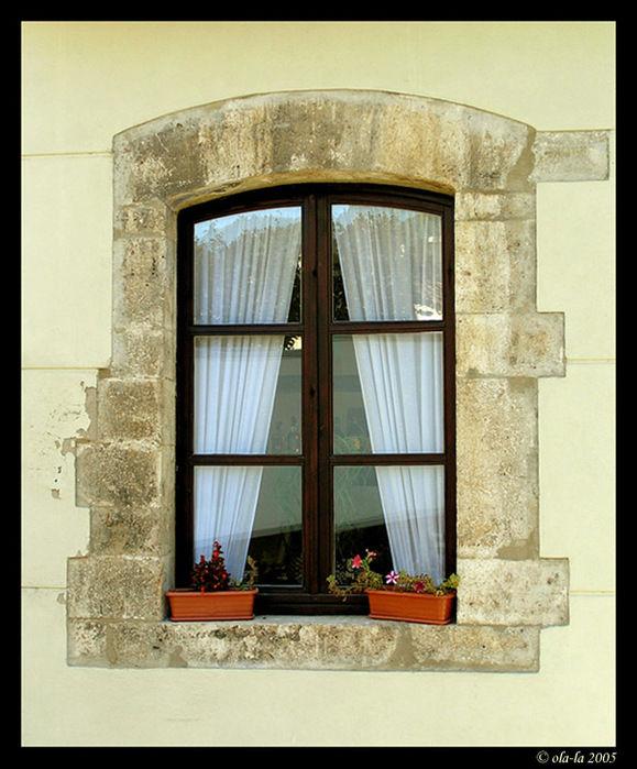 Декупаж окна