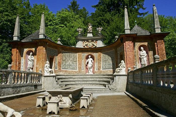 Дворец Хельбрунн - часть 1 74323