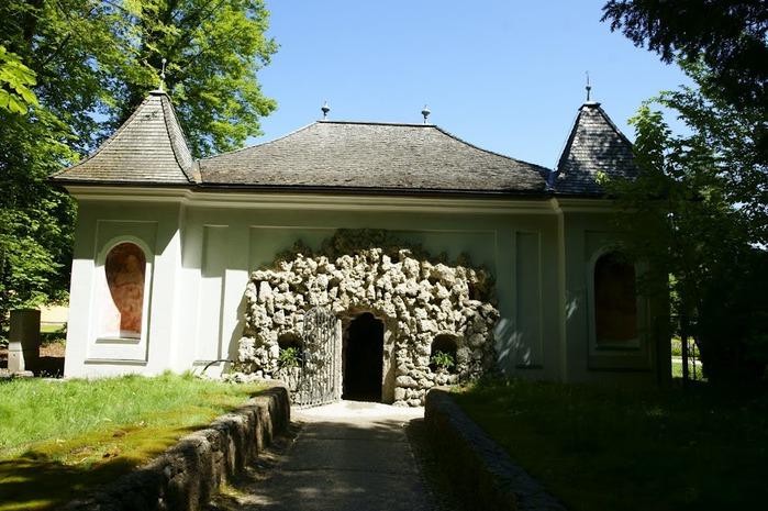 Дворец Хельбрунн - часть 1 49980