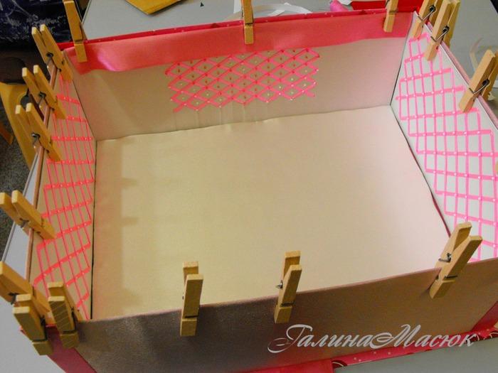 Как сделать коробку для обуви кукол видео