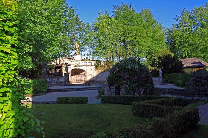 Дворец Хельбрунн - часть 2 52997