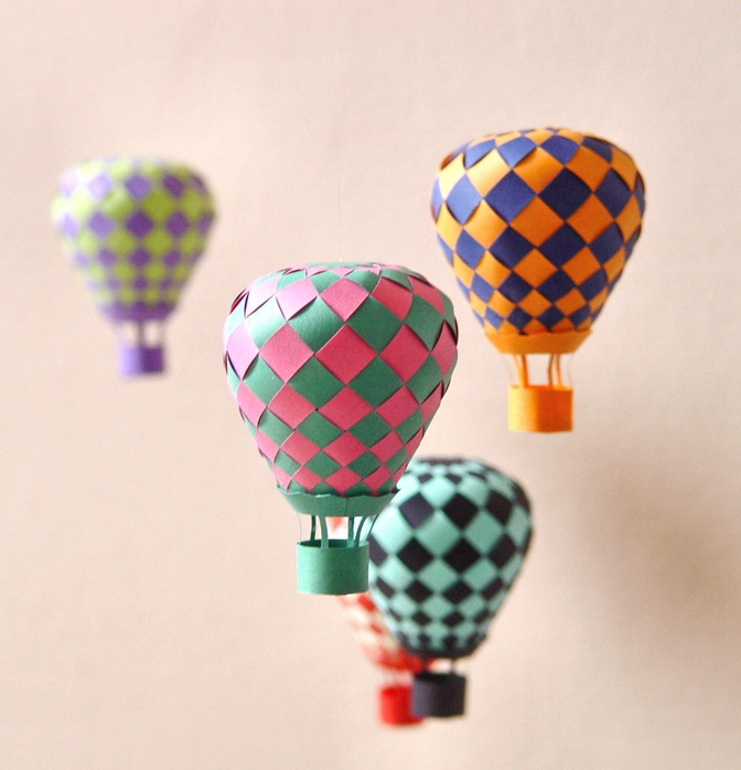 Как сделать воздушный шар своими руками из
