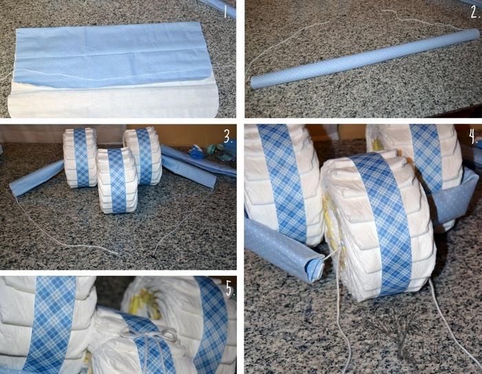 Как сделать своими руками памперс