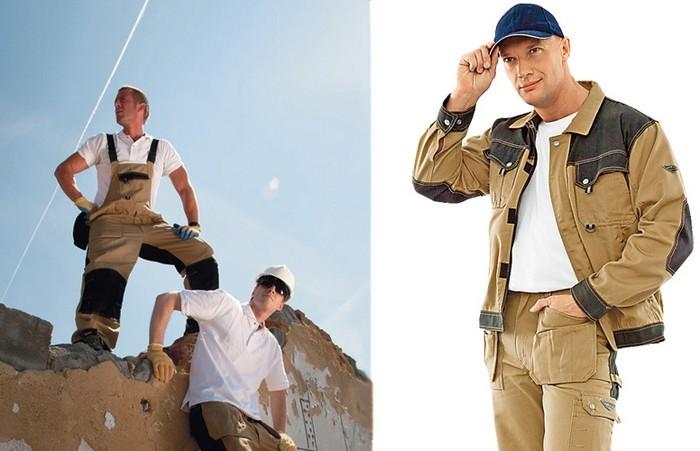 Модная униформа для рабочих