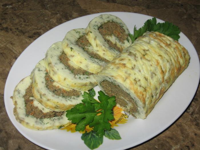 Печёночный рулет рецепт пошагово с фото