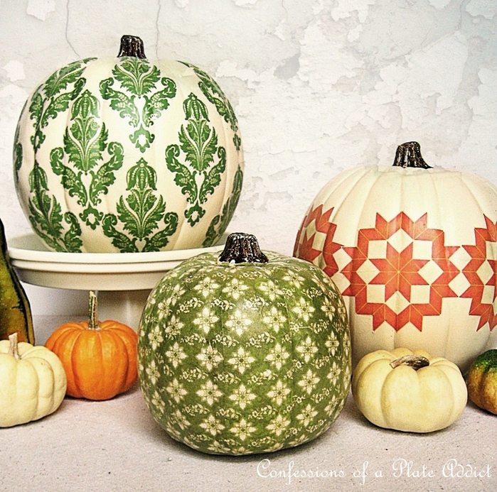 Country Living Pumpkins (700x693, 441Kb)