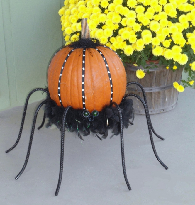 spider pumpkin (665x700, 299Kb)