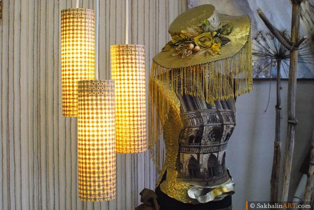 Оригинальный светильник из банок своими руками. Мастер класс с фотографиями