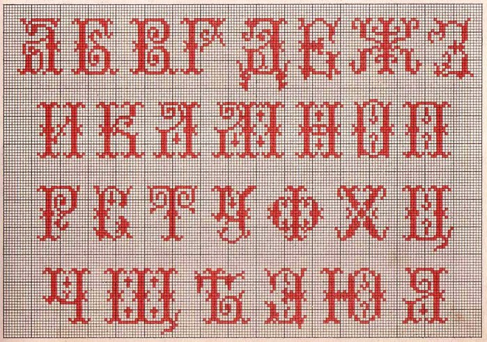 Russian Cross Stitch Alphabets 1_Page_03 (700x492, 167Kb)