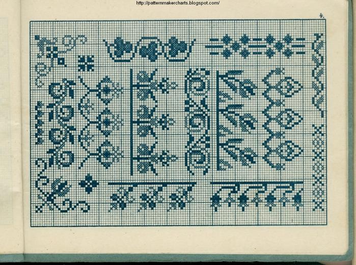 Alphabete u. Muster zum Waschezeichnen und Sticken iii -04 (700x520, 357Kb)