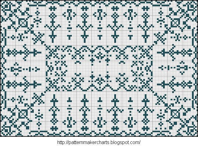 Alphabete u. Muster zum Waschezeichnen und Sticken iii 11 (650x487, 147Kb)