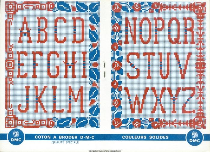 Alphabets et Motifs au Point de Croix N° 3 3 (700x507, 364Kb)