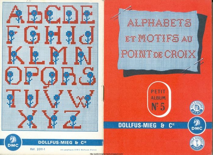 Alphabets et Motifs au Point de Croix N° 5 1 (700x507, 354Kb)