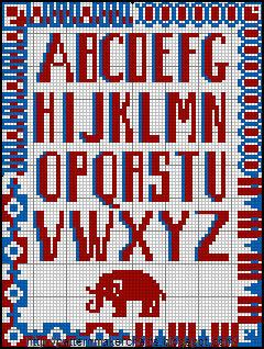 Alphabets et Motifs au Point de Croix N° 5 - 3 (240x318, 50Kb)