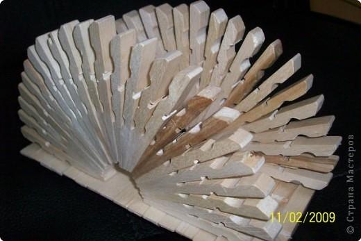 Поделки из деревянных прищепок своими руками