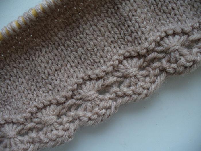 вязания спицами «паучки»,