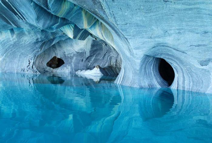 мраморные пещеры патагонии 6 (700x472, 110Kb)